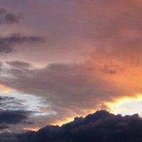 Раскрасчик неба моет кисти :: Ирина Сивовол