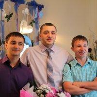 жених с друзьями :: Andrey Shatalov