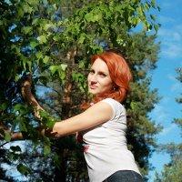 в лесу :: Кристина Маська