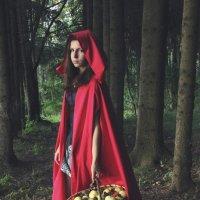 Красная шапочка :: Юлия Харина