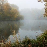 Осеннее утро на реке Осётр :: Анастасия Богатова
