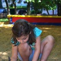 рисунки на песке :: Надежда Пашкова