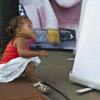 Маленькая Женщина (надпись-крем разогревающий....) :: Irina ----