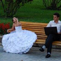 Ожидание невесты :: Владимир Шлосберг