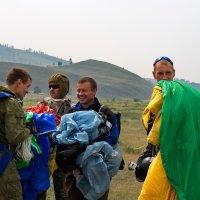 после прыжка :: Геннадий Лосев
