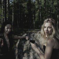 Болотные ведьмы :: Nina Zhafirova