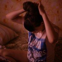 делаем..причёску...))) :: Катюшка Максимова (Кусова)