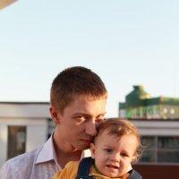 муж и сын :: Кристина Арсенина