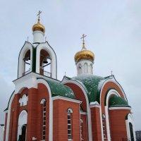 Храм преподобного Сергия Радонежского :: Татьяна Котельникова
