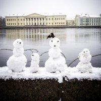 Питерские снеговики :: Олеся Семенова