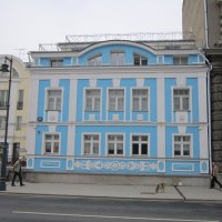 Голубой дом :: Дмитрий Никитин