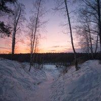 Закат в январе :: Олег Пученков
