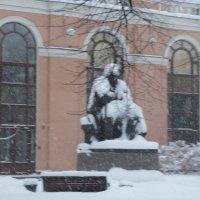 Снегопад в Петербурге :: Митя Дмитрий Митя