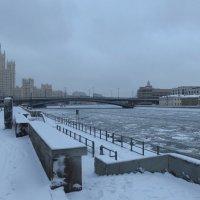 Набережная Москва-реки в Зарядье :: Андрей Лукьянов