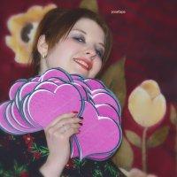 Мари с наступающим горячей вам любви :: Роза Бара