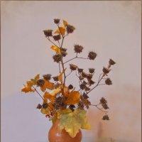 Собирала я гербарий - грусть осеннего букета... :: Людмила Богданова (Скачко)