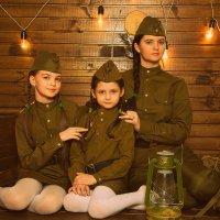 Солдатки :: Наталья Бочкарева