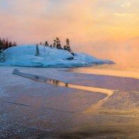 Композиция из острова и льда :: Фёдор. Лашков
