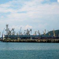 Морской торговый порт Туапсе :: Сергей Царёв