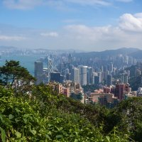 Гонконг с высоты :: Анатолий Иргл