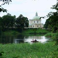 Нижний пруд и Японский павильон Большого дворца :: Елена Павлова (Смолова)