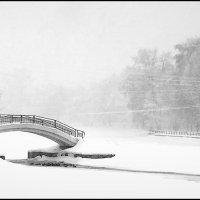 Зимний пейзаж :: Михаил Малец