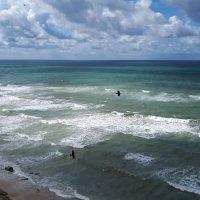 Море в Нетании 1 :: Vladimir Dunye