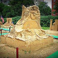 Международная выставка песчаных скульптур. :: Владимир Драгунский