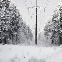 Зимний пейзаж :: Александр Михайлов
