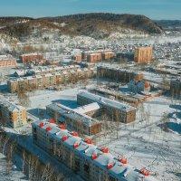 Междуреченск зимой :: Юрий Лобачев