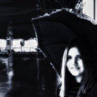 Девушка с зонтом(3) :: Игорь Свет
