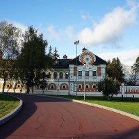 Здания и ограда комплекса патриаршей резиденции :: Елена Павлова (Смолова)