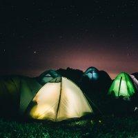 Ночь в горах :: Кирилл Гудков