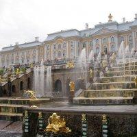 Большой каскад, дворец :: Анна Воробьева