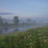 На рассвете у пойменного озерца Фатино. :: Igor Andreev