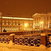 зимние ограды Мойки :: Елена