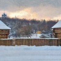 Уже не прочесть, не понять следов прошедших по снегу  дней :: Ирина Данилова