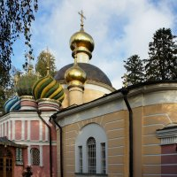 Спасо-Преображенская церковь в Переделкино. :: Елена Павлова (Смолова)