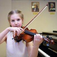 леди скрипка :: Татьяна Малафеева