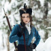 На зимней охоте :: Владимир Горубин