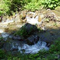 Горная   река   в    Рахове :: Андрей  Васильевич Коляскин
