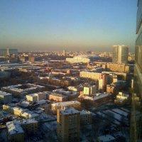 Зимняя Москва с высоты... :: Елена
