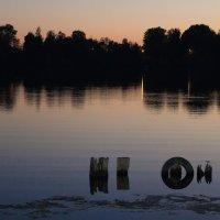 Вечер. Суздальские  озера. И немного  загадочности. :: Людмила Волдыкова