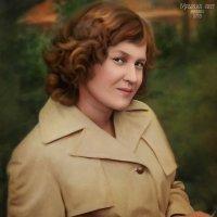 Портрет для любимой мамули) :: Malinka Art Galina Kazan