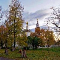 Осень-17-го (Богоявленский собор г Орёл.) :: Елена Кирьянова