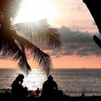 Закатное.Андаманское море. :: Рустам Илалов