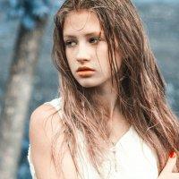 Под дождем :: Елена Сиднина