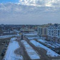 Вид со смотровой площадке Кафедрального Собора Феодора Ушакова на Саранск. 5. :: Андрей Ванин