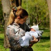 Мама и малыш :: Кирилл Трошинкин