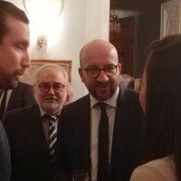 С Премьер-Министром Бельгии Мишелем :: Борис Соловьев